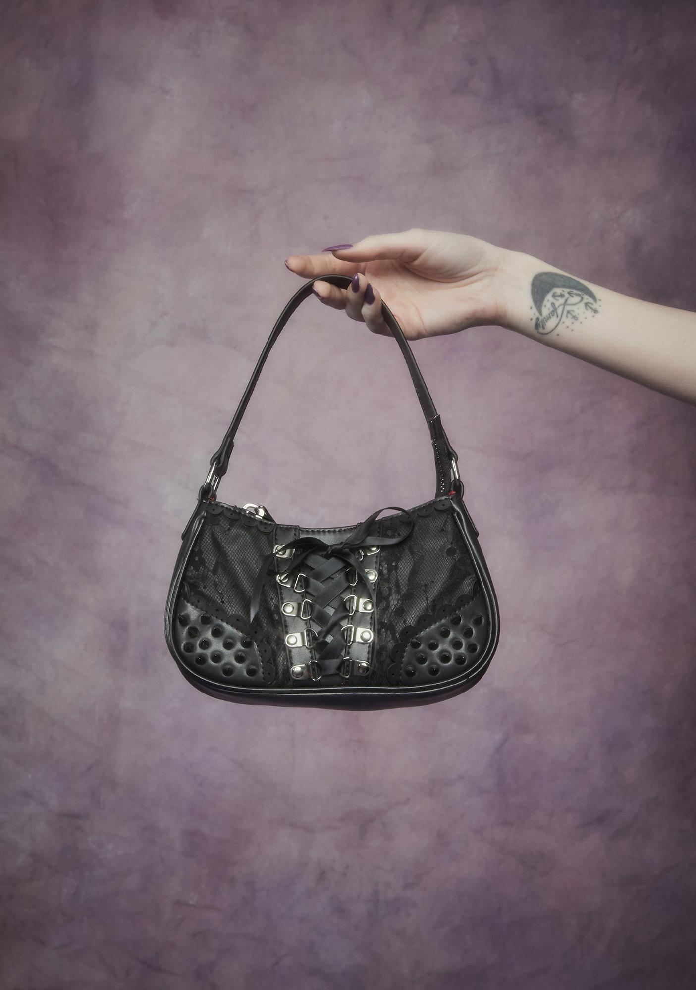 Widow Dangerously Amorous Corset Bag