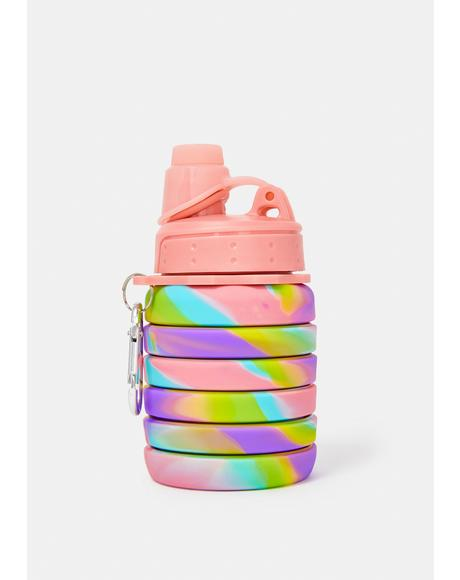 Trippy Life Collapsible Water Bottle