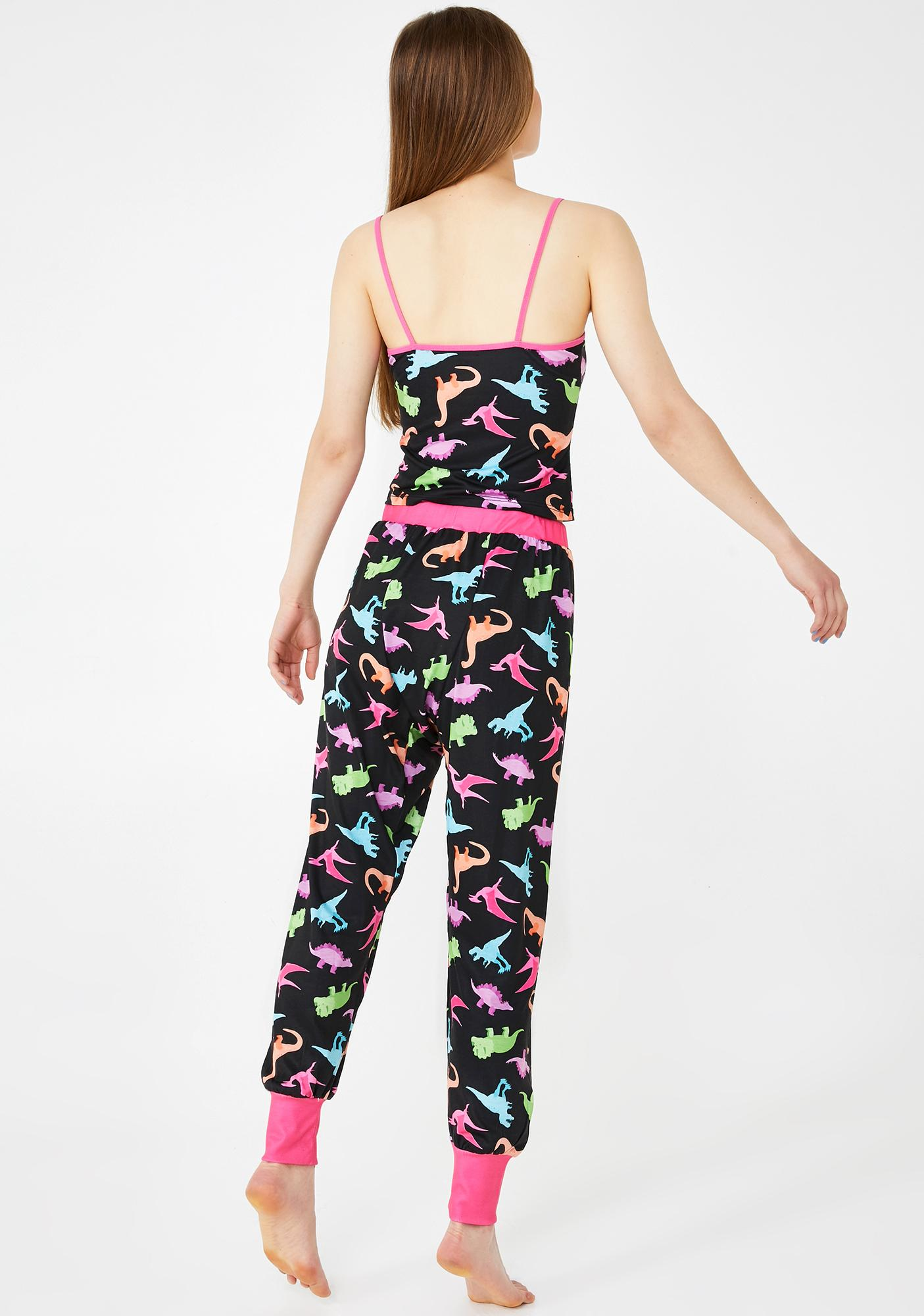 dELiA*s by Dolls Kill Girly Dino-Mite Lounge Pants