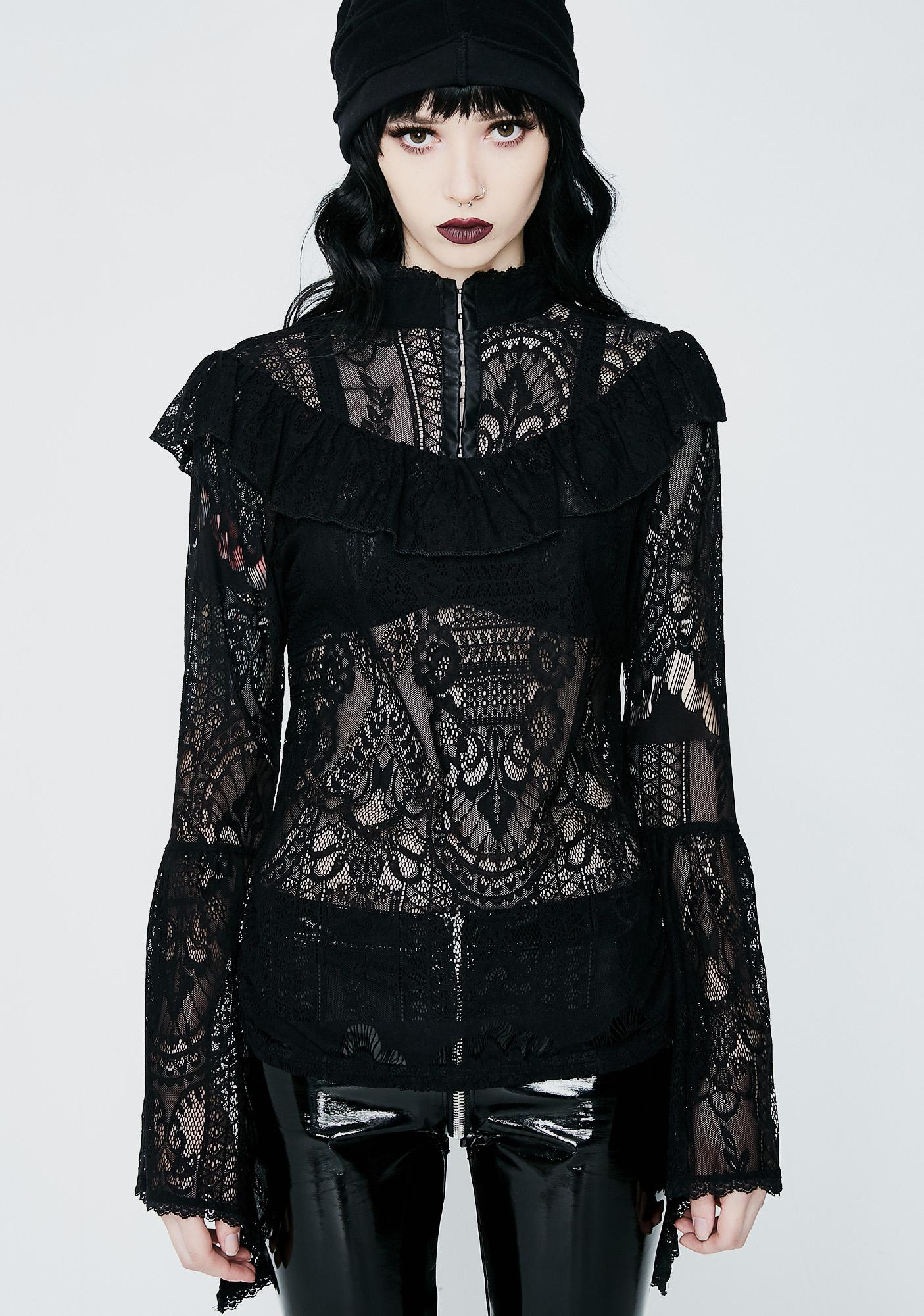 Killstar Morte Mistress Top
