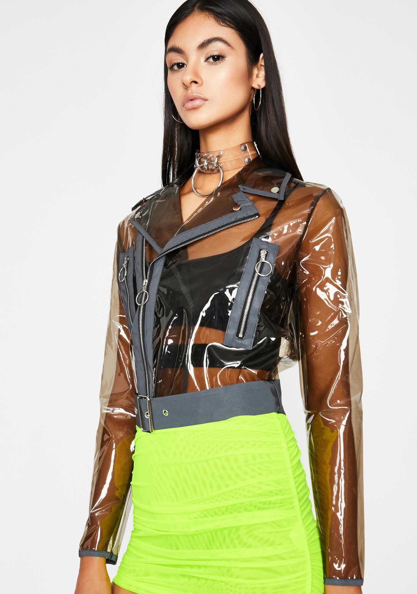 Dark Crystal Complex Moto Jacket