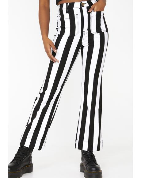 Cropped Farrah Trousers
