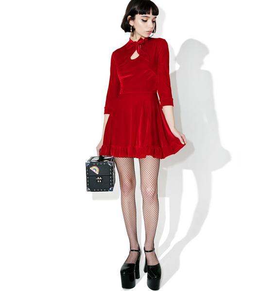 Valfré Cecilia Velvet Dress