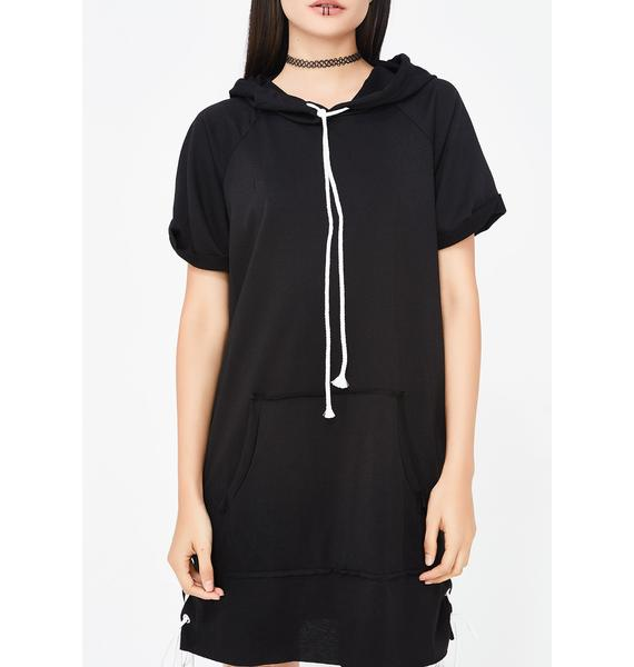Free Throwz Hoodie Dress