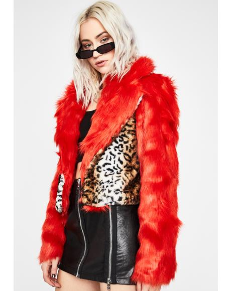 Fiercely Fatal Fuzzy Coat