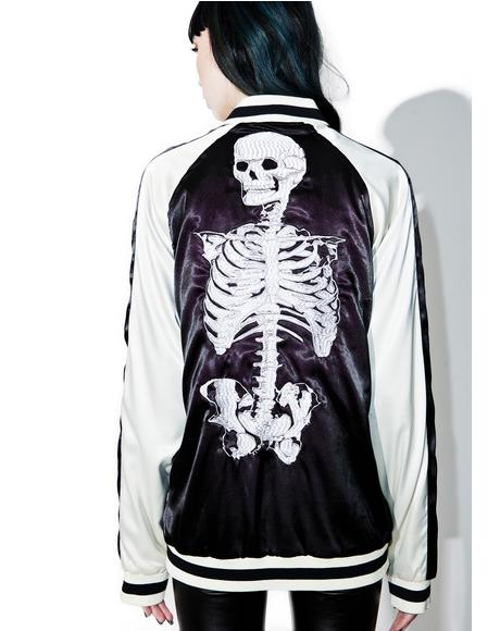 Reversible Embroidered Jacket
