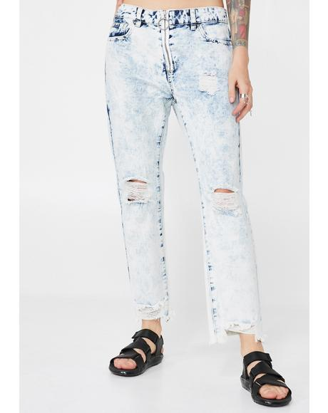 Vixen Crash Distressed Jeans