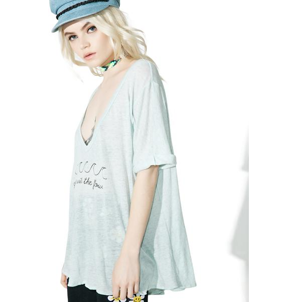 Wildfox Couture Goin' With The Flow Tropezienne Tee