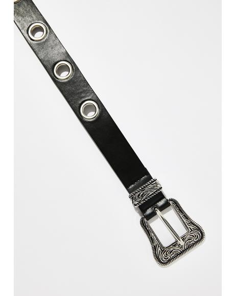 For The Thrill Grommet Belt