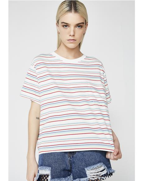 Charlie Multi Color Tee