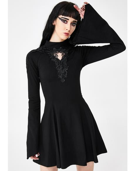 Gothic Hollow Pendulum Dress
