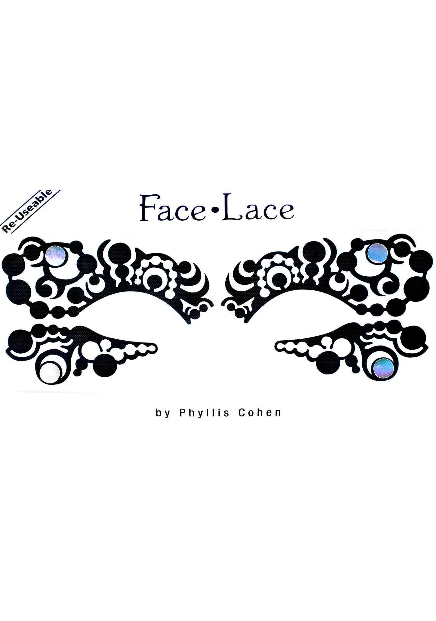 Face Lace Optart Face Lace