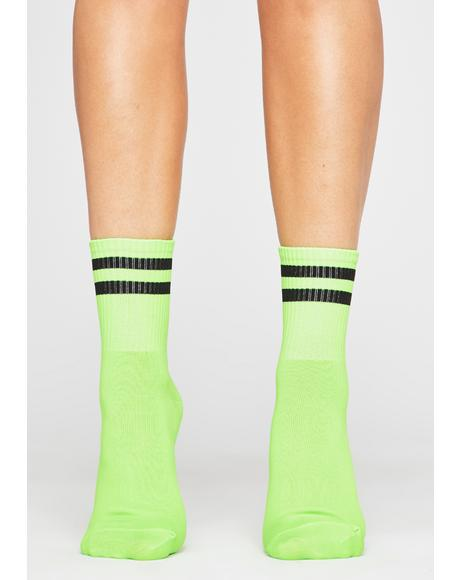 Toxic Team Player Varsity Socks