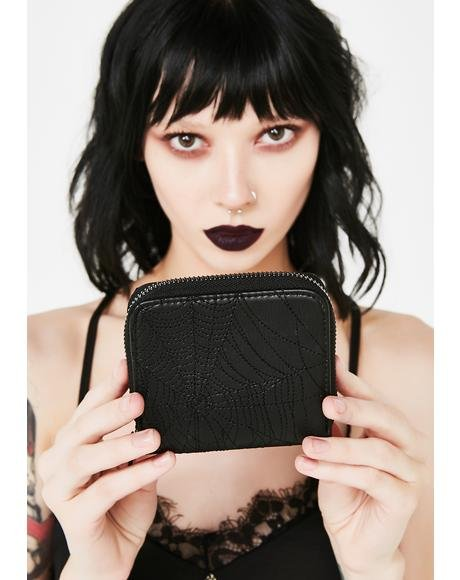 Lethal Bite Embroidered Wallet