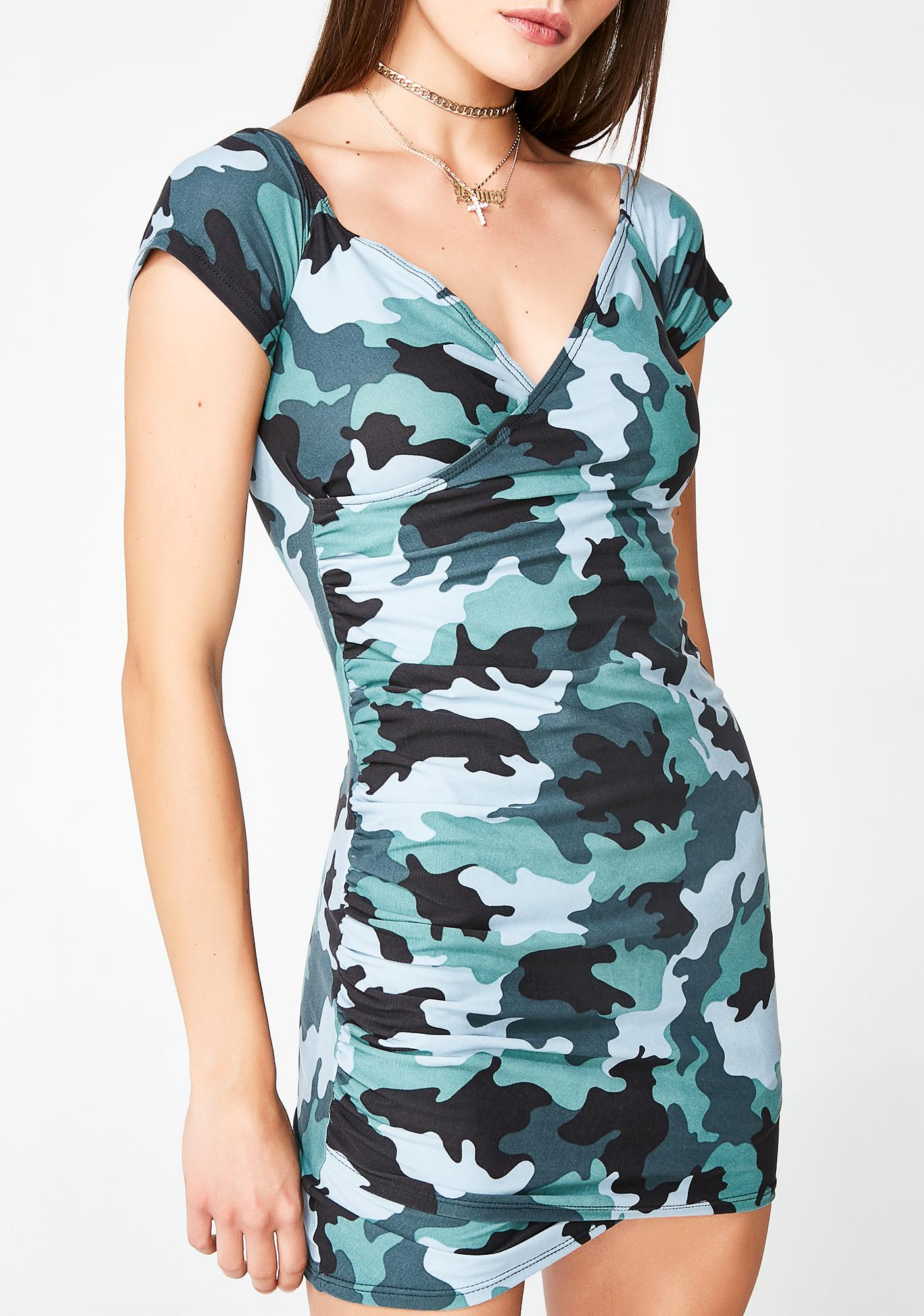 Break Ranks Camo Dress