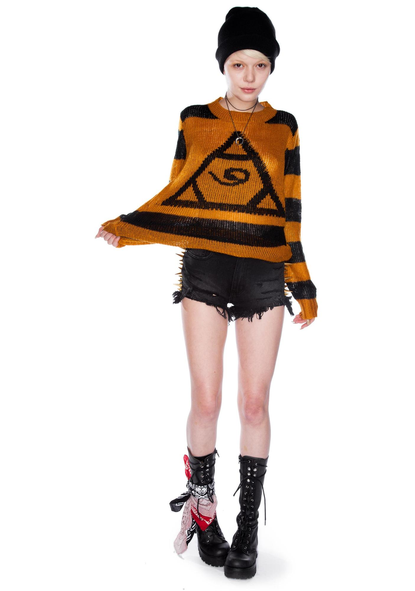 UNIF Pyramid Sweater