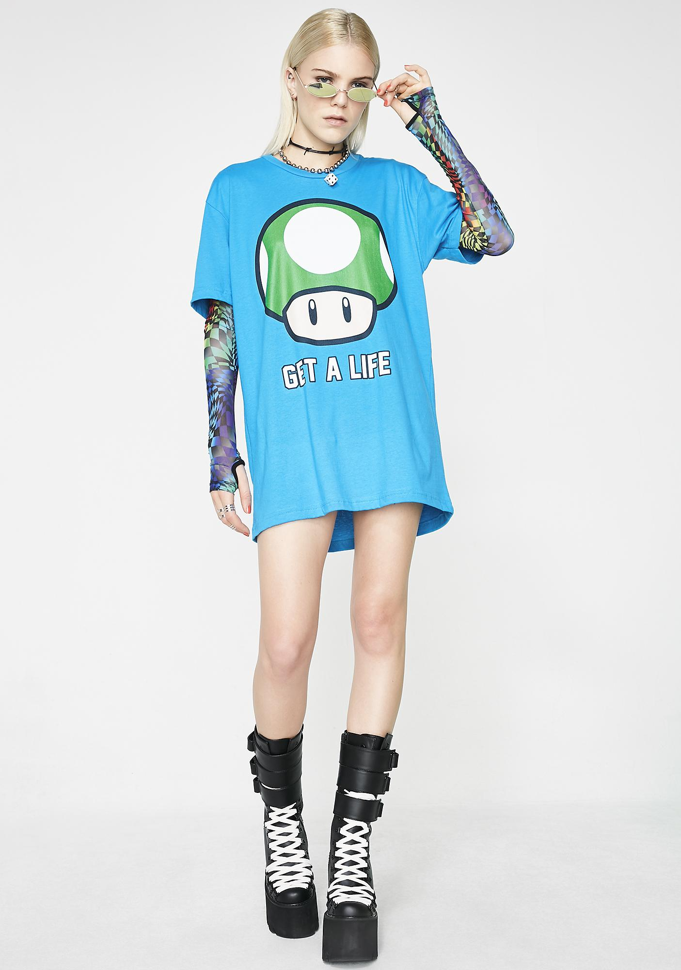 Level Up Graphic Tee