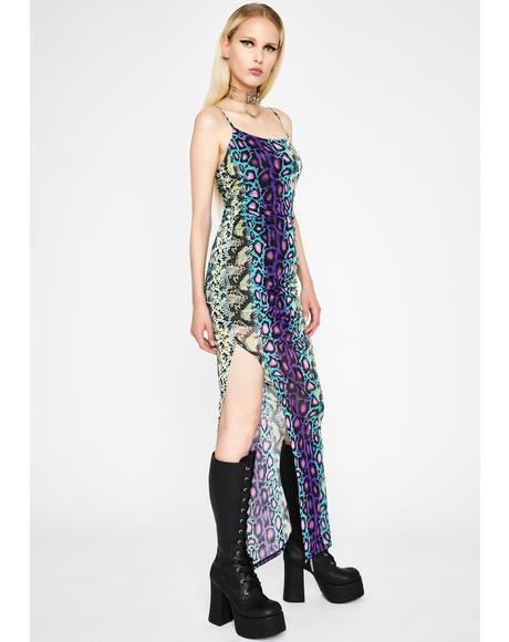 Freaky Flair Maxi Dress