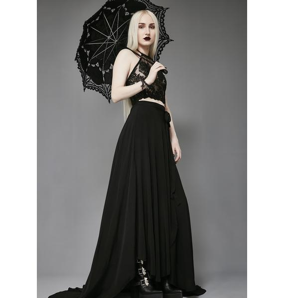 Widow The Rapture Wrap Skirt