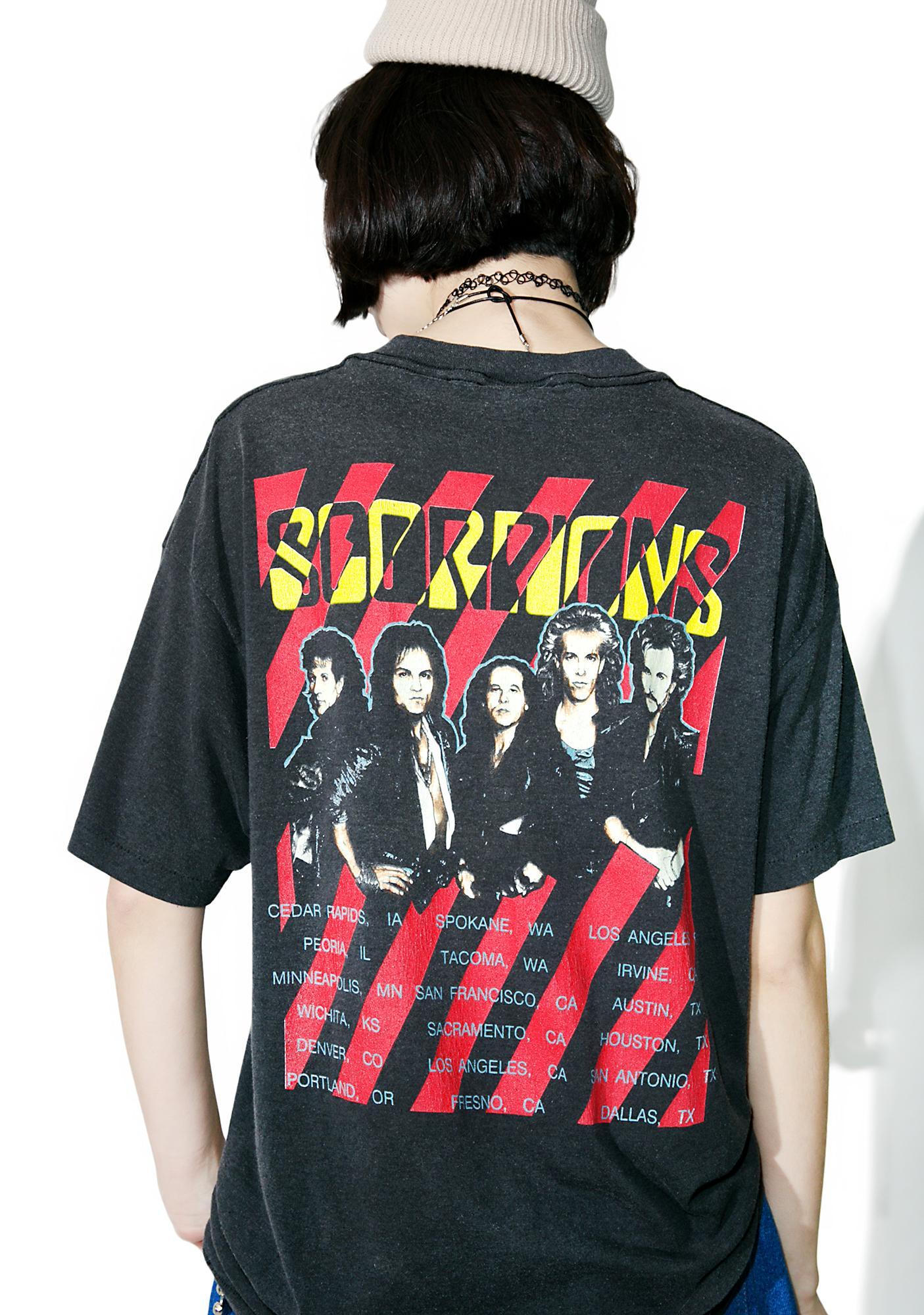 Vintage Scorpions '88 Tour Tee
