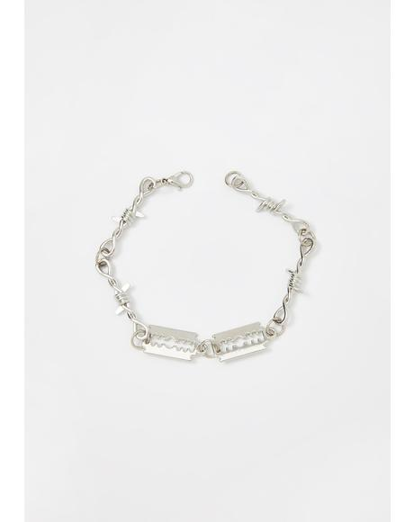 Cut Yer Heart Out Bracelet