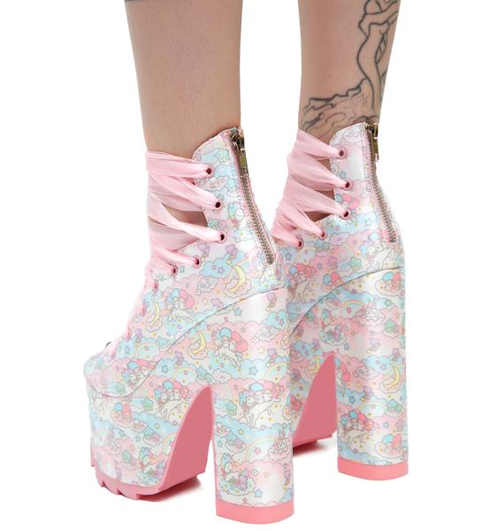 Y.R.U. Little Twin Stars Ballet Bae Platforms