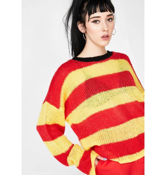 The Ragged Priest Slacker Knit Sweater