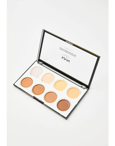 Highlight N' Contour Cream Pro Palette