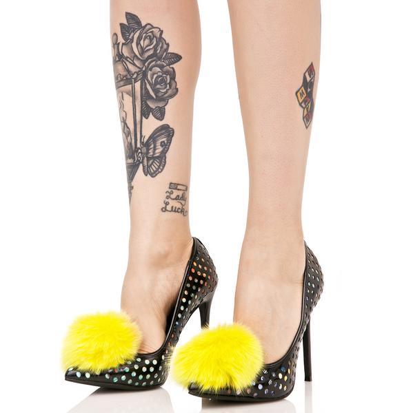 Privileged Shocking Dulce Pom Heels