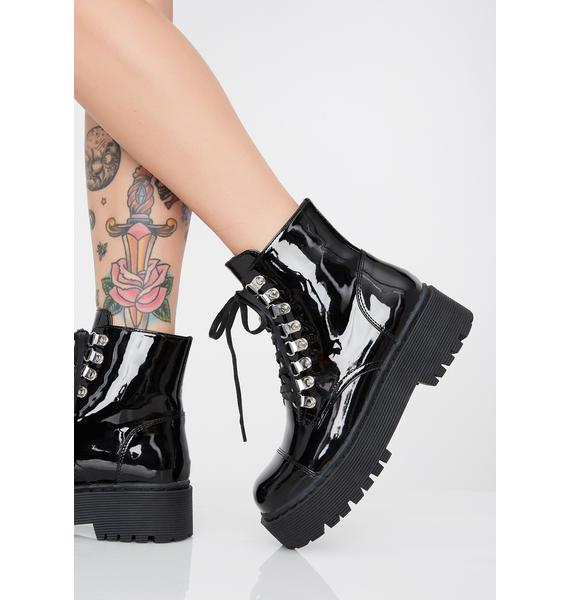 Current Mood Disturb The Peace Patent Boots