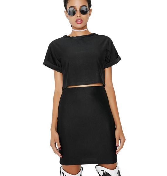 As I Am  Mystic Night Mini Skirt