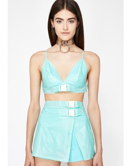 Minty Glamazon Grl Skirt Set