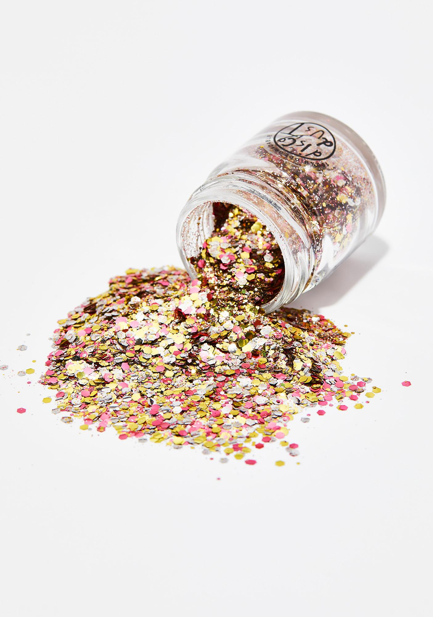 Disco Dust London Metallic Rose Extra Chunky Bio Glitter