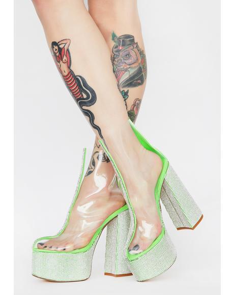 Brandie Rhinestone Heels