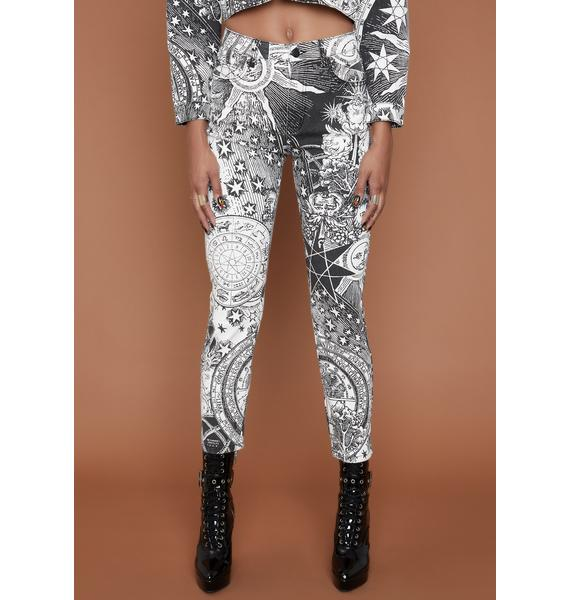 HOROSCOPEZ On The Rise Skinny Jeans