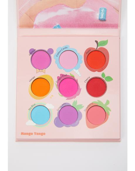 Juicy Nine Mango Tango Eyeshadow Palette