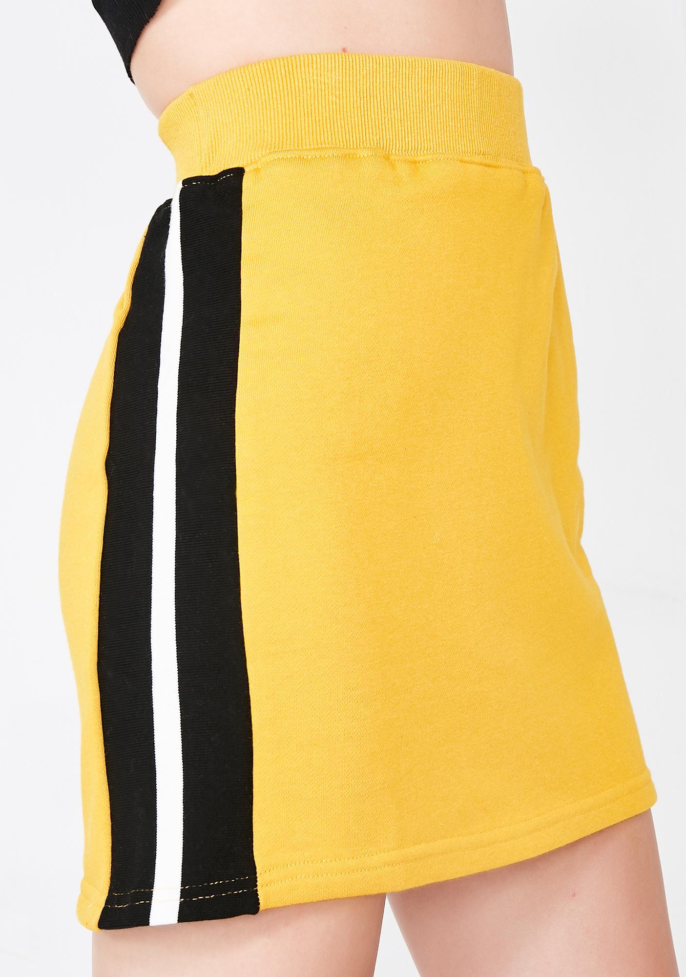 Posh N Sporty Mini Sweatskirt