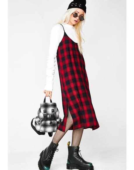Ruby Soho Plaid Dress