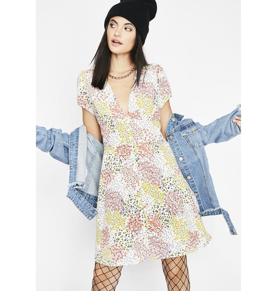 Too Nice For You Floral Dress