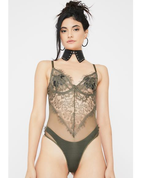 Dank Rules Of Attraction Lace Teddy
