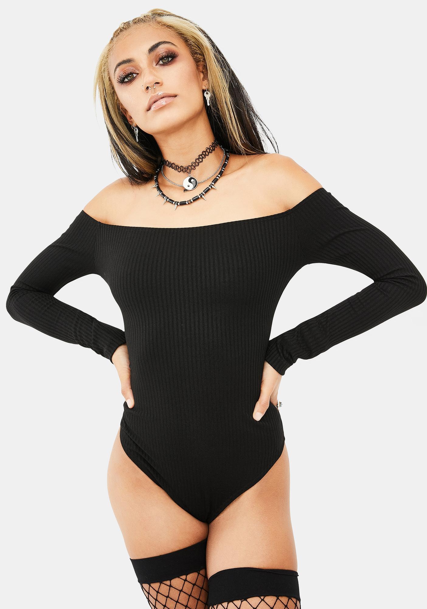 OW INTIMATES Gerda Off Shoulder Bodysuit