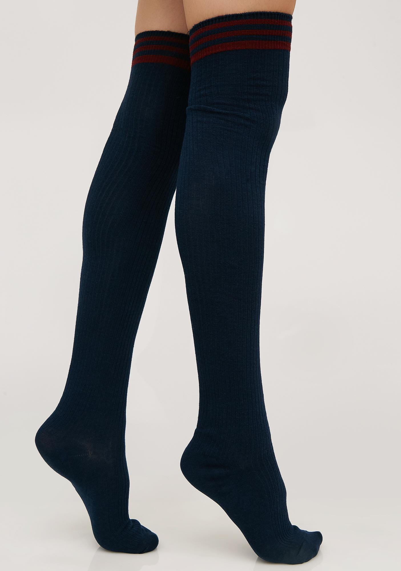 Yung Thang Thigh High Socks
