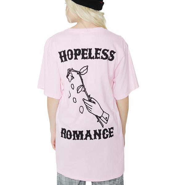 Petals and Peacocks Hopeless Romance Tee