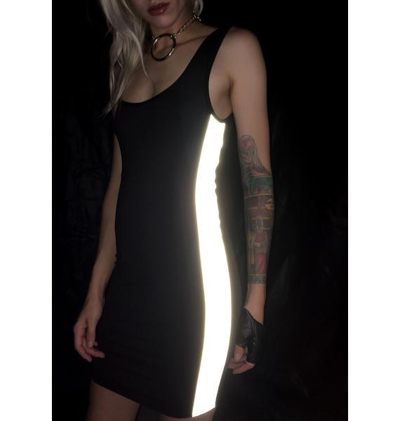 Throw It Back Reflective Dress