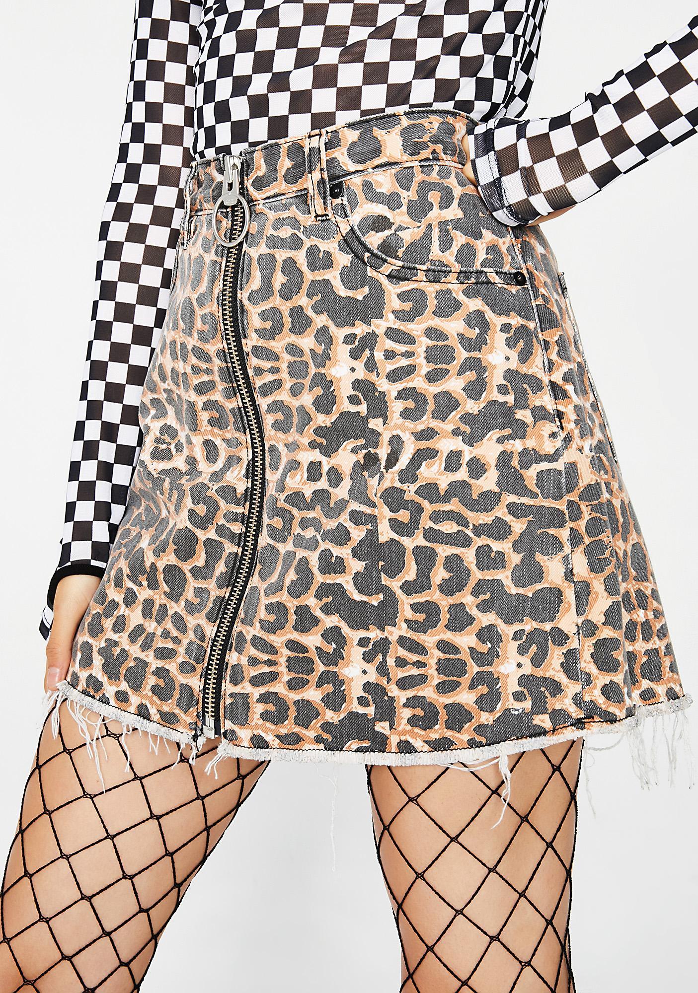 Neon Blonde Chaser Skirt