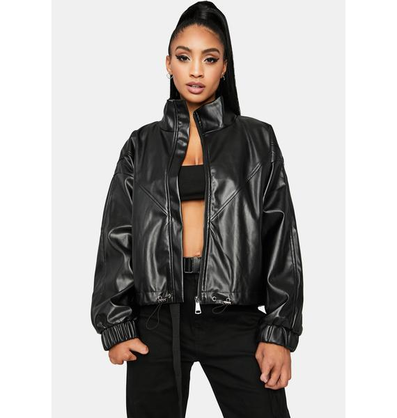 Always Bad News Moto Jacket