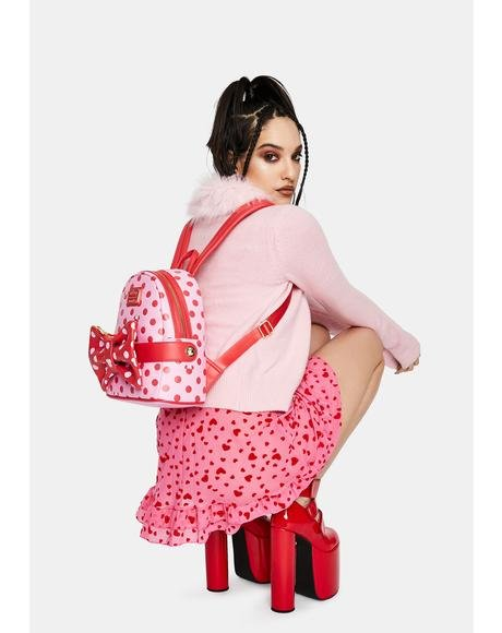 Minnie Mouse Pink Bow Backpack