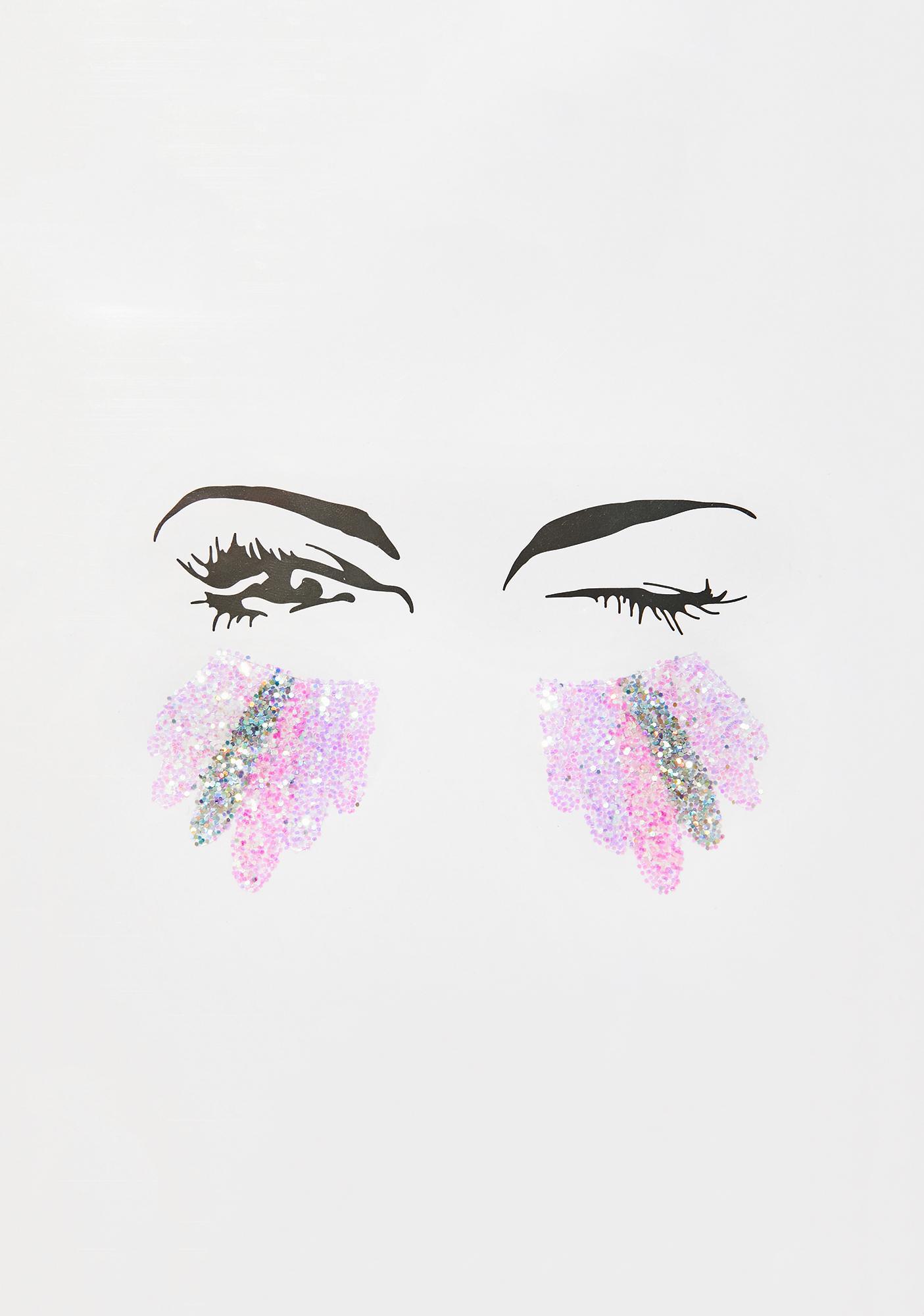 The Gypsy Shrine Unicorn Tears Glitter Sticker