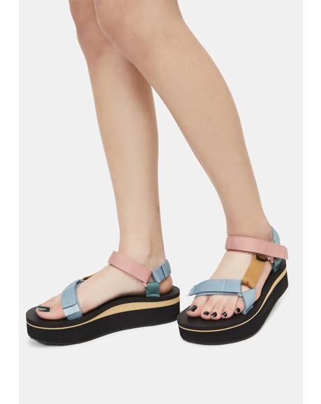 Light Multi Flatform Universal Sandals