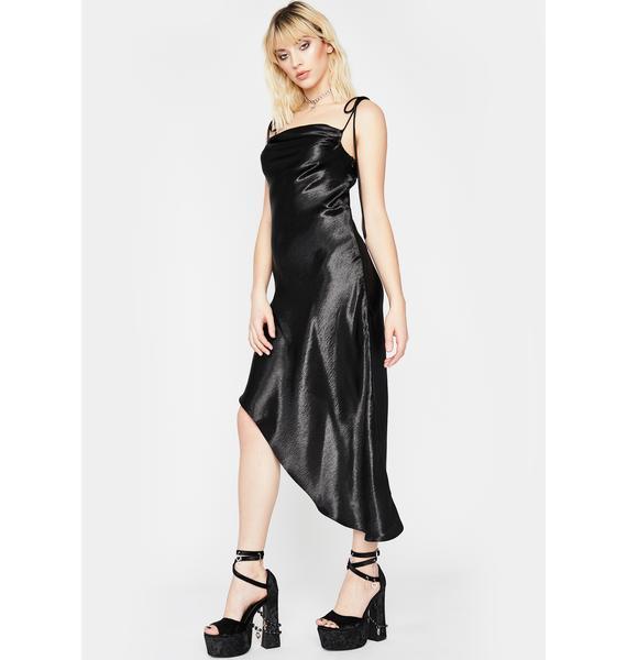 Hollywood Heartthrob Satin Dress